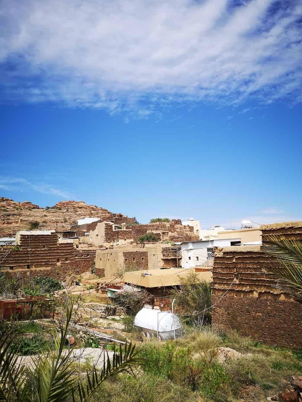 Tamniah town Saudi Arabia