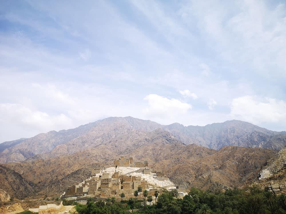 The Ain Ancient Village saudi arabia