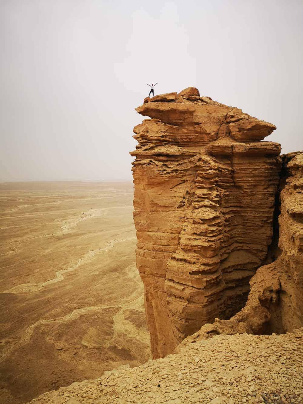 The Edge of the World saudi arabia