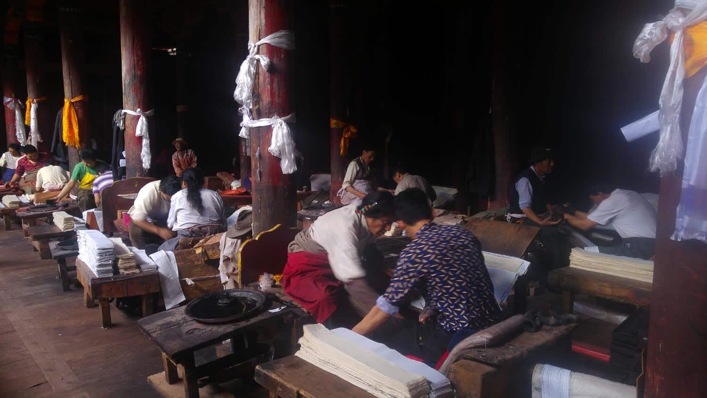 Bakong Scripture Printing Press dege sichuan