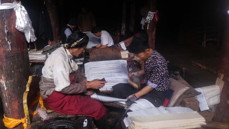 Bakong Scripture Printing Press dege