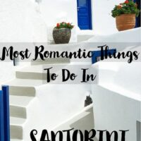 travel guide to romantic things to do in Santorini in Greece