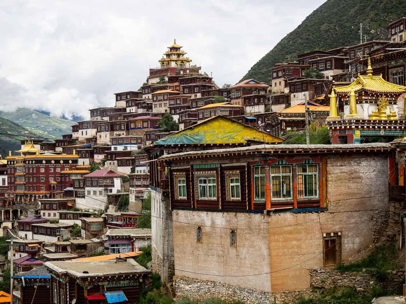 Palyul Monastery tibet sichuan