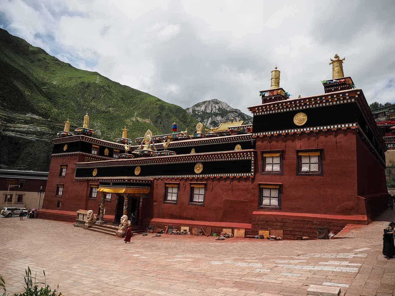 Dege Bakong Scripture Printing Press in western Sichuan