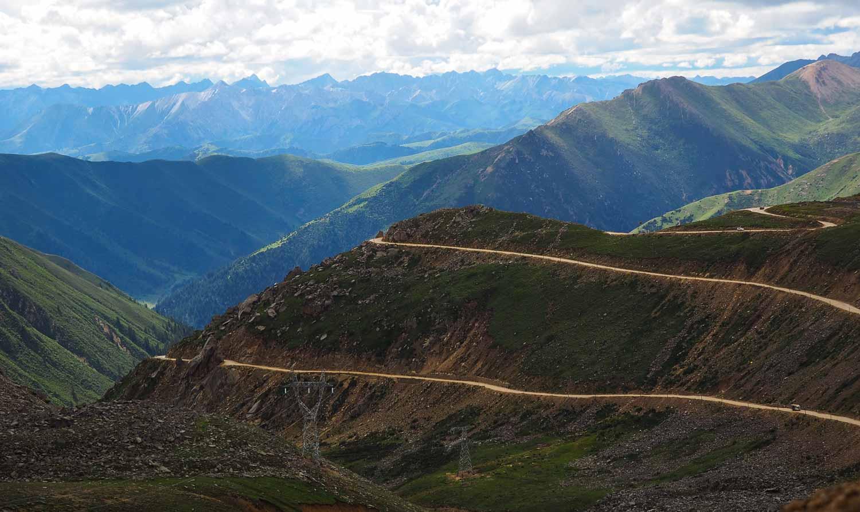 Tro-la Pass sichuan