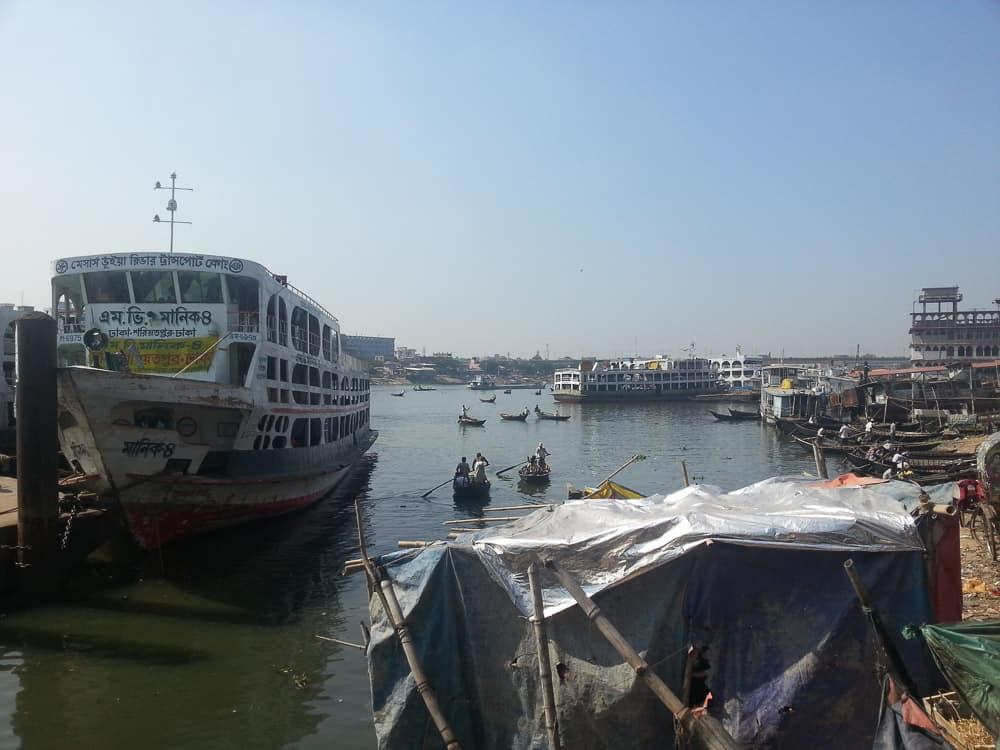 Sadharghat River Port dhaka