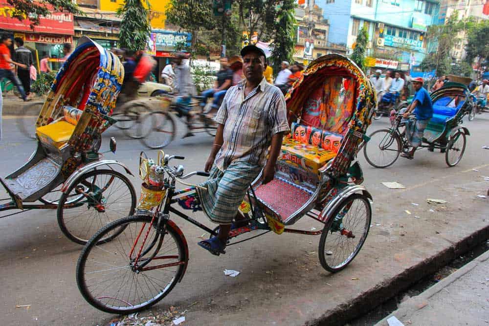 Dhaka rickshaws