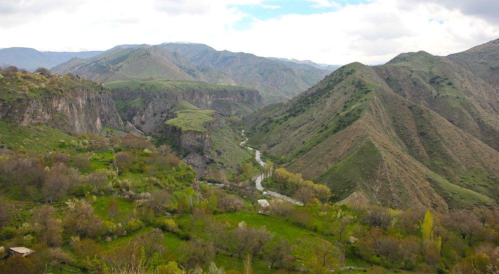 Garni Temple valley armenia