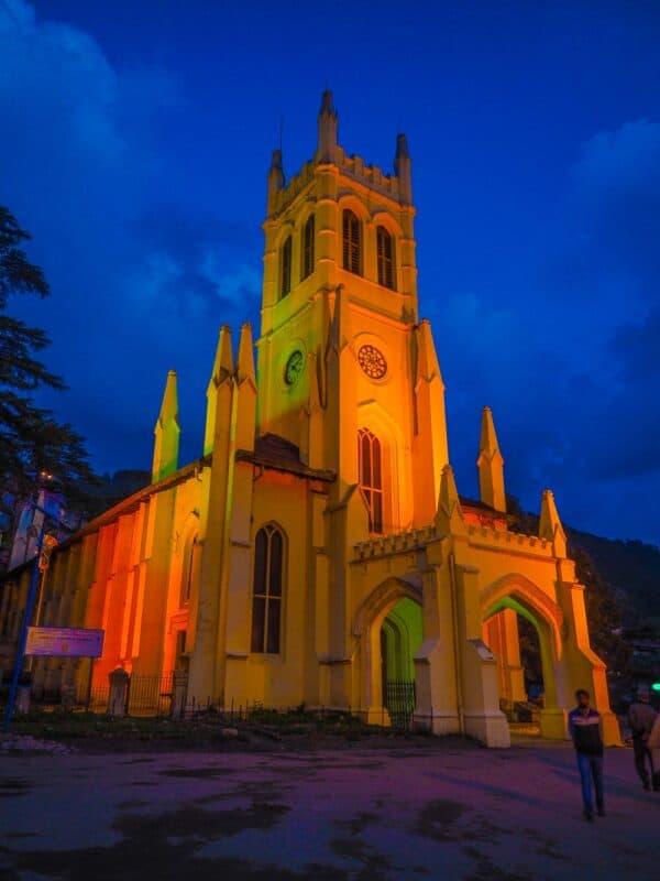 Shimla church india