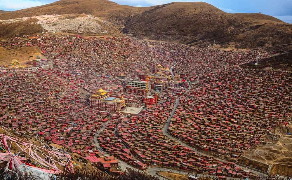 Larung Gar Sichuan China