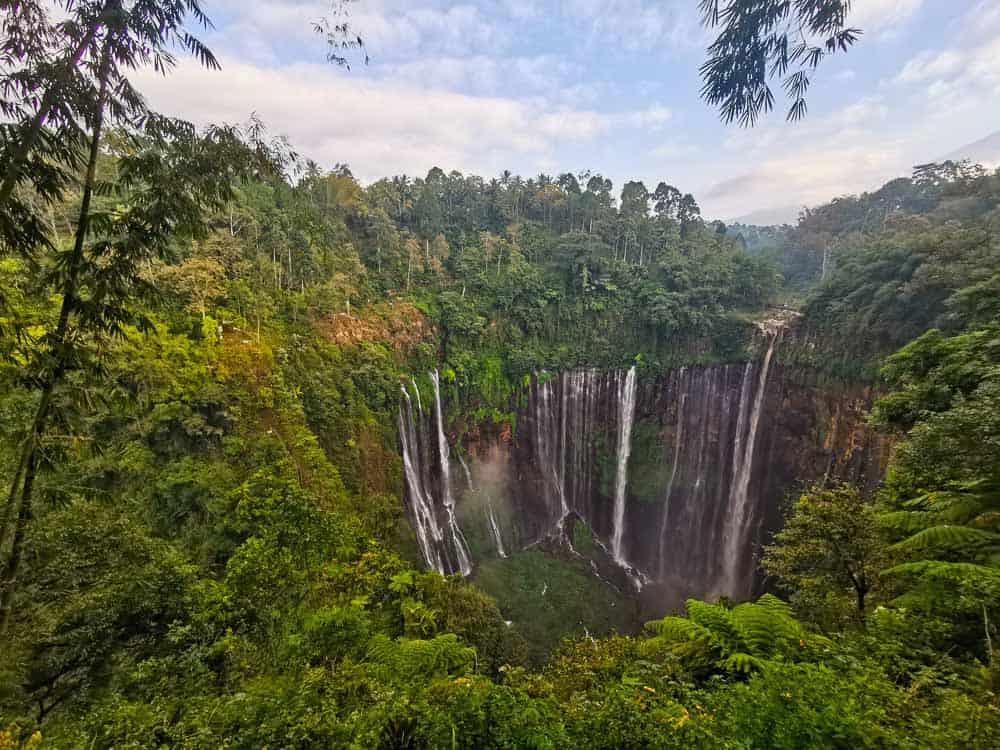 Tumpak Sewu Waterfall java indonesia