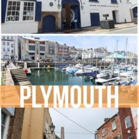 travel guide to Plymouth a small seaside town in southern United Kingdom