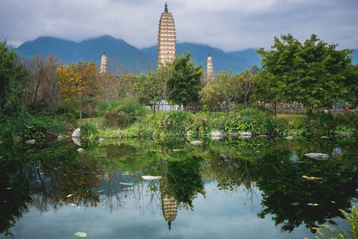 Dali 3 pagodas Yunnan