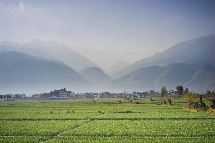 Dali countryside Yunnan china