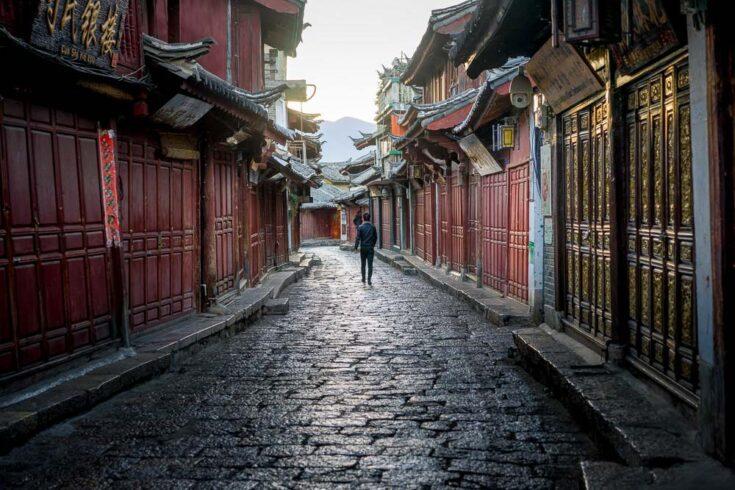 Old town Lijiang Yunnan China