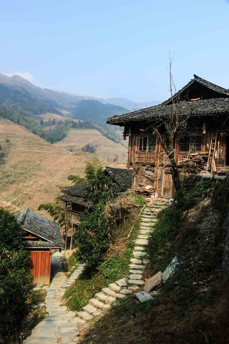 Ping'an Village longsheng china