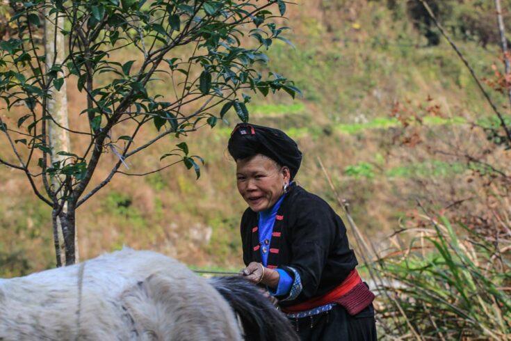 Zhuang people china