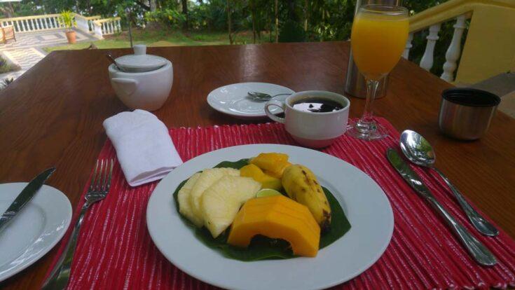 fresh fruit sao tome