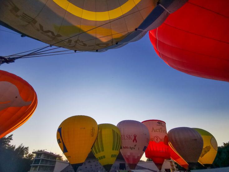 lithuania hot air ballon