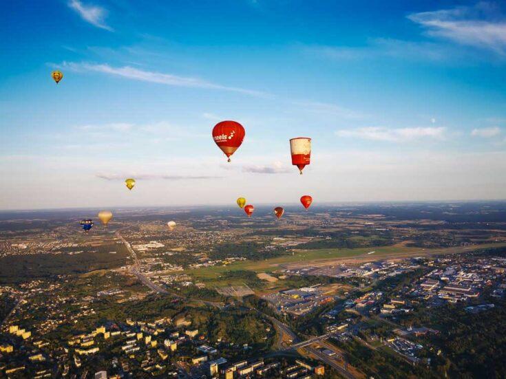 hot air ballon vilnius