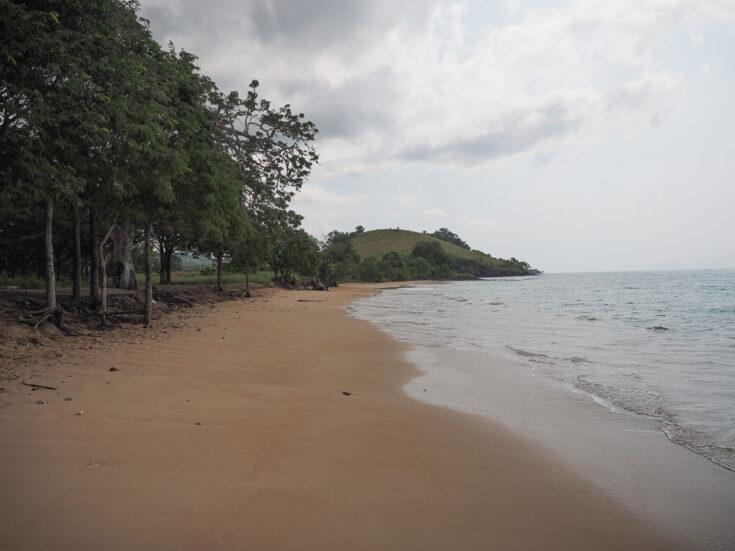 Praia da Sete Ondas Sao Tome