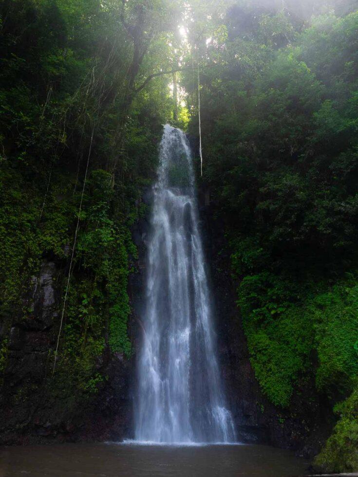 Cataratas da São Nicolau waterfall sao tome