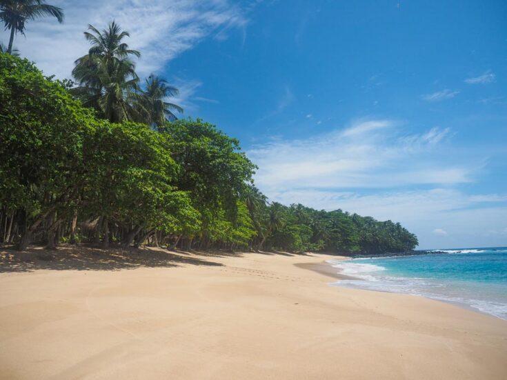 Sao Tome beach africa