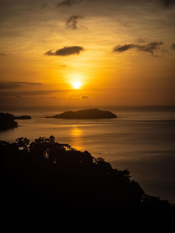 sao tome sunset