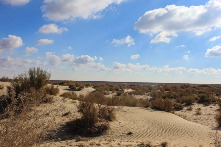 Aral Sea in Uzbekistan