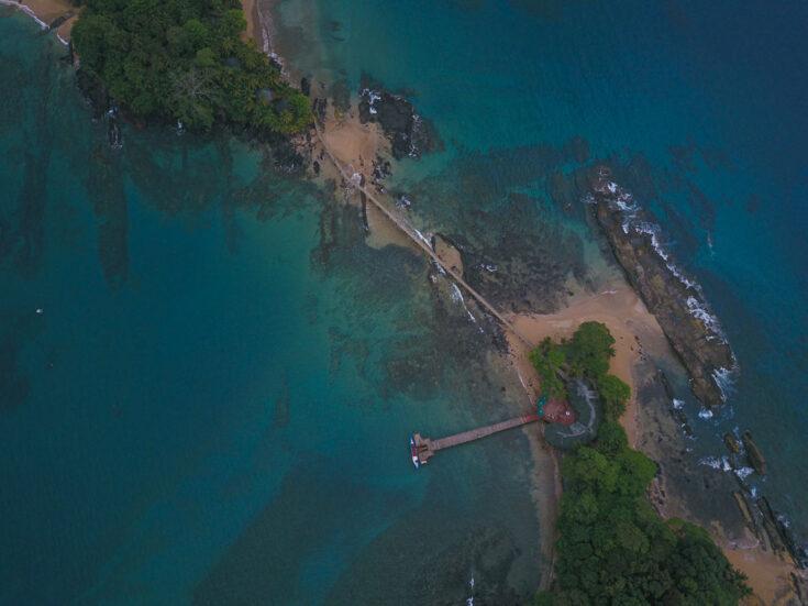 Bom Bom resort in Príncipe