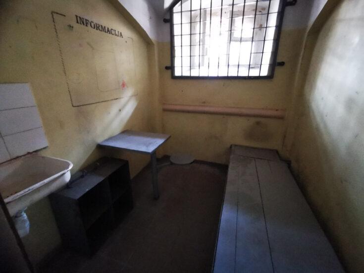 Lukiškės Prison prision cell vilnius