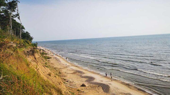 Klaipėda beach lithuania