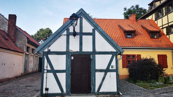 Old town Klaipeda lithunia