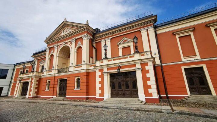 Klaipėda old town Lithuania