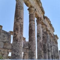Apamea ruins in Syria