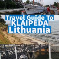 Travel guide to Klaipeda Lithuania