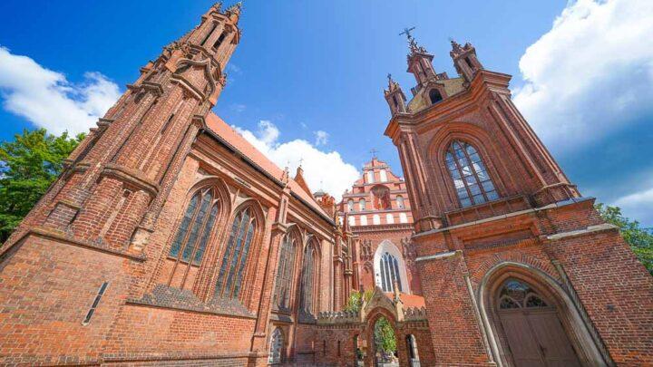 Church of St. Anne. Vilnius