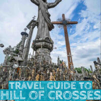 Travel Guide to the Hill of crosses in Lithuania a must visit in the baltics
