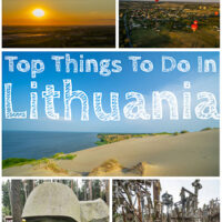 Travel Guide top things to do in Lithuania the small country in Europe
