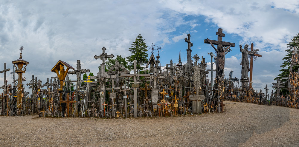 Hill of Crosses Lithuania star of david