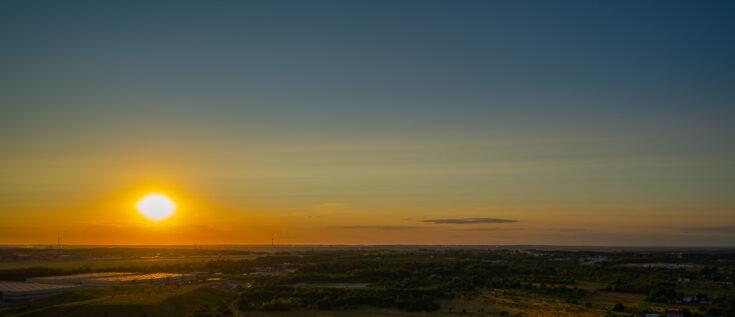 Sunset vilnius