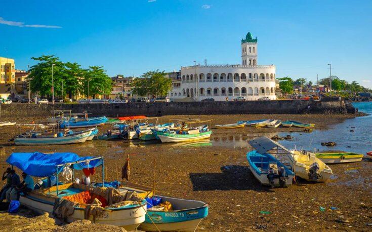 Comoros Mosque landmark