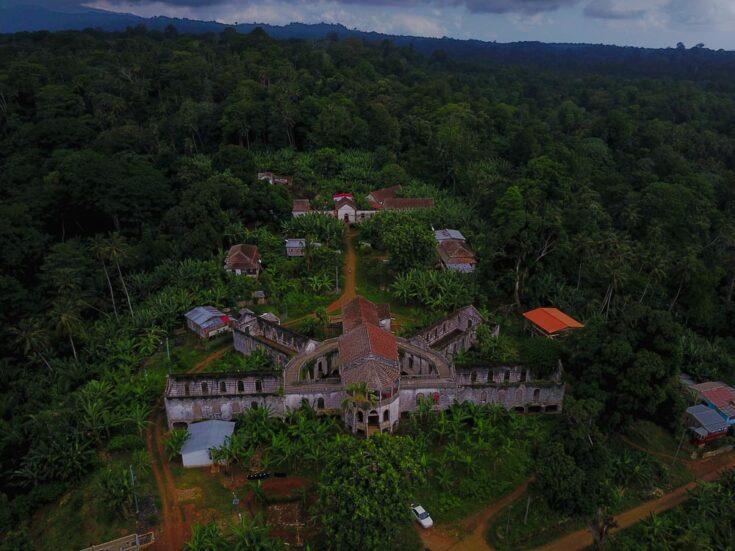 colonial ruins sao tome