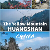 Travel Guide to The Yellow Mountain Range | Huangshan Mountains in China