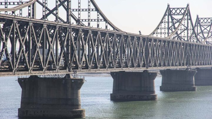 bridge to North Korea