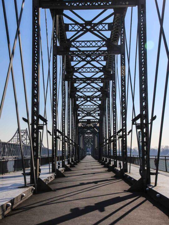 Yalu River Broken Bridge Dandong chINA