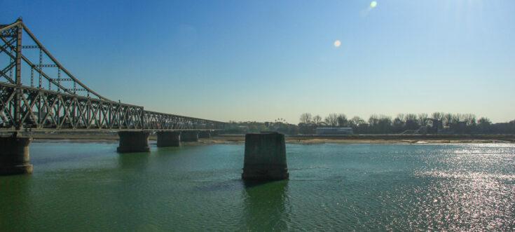 Sino-Korean Friendship Bridge Dandong China