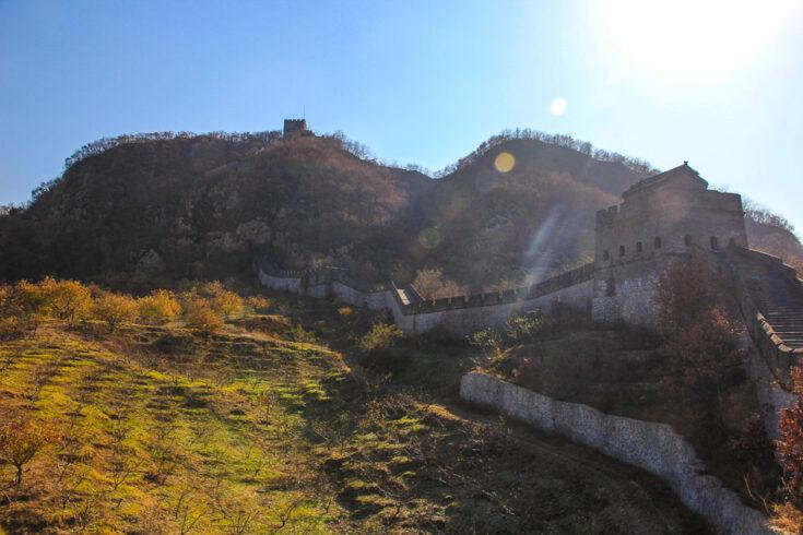 Tiger Mountain Great Wall / Hushan Great Wall dandong China