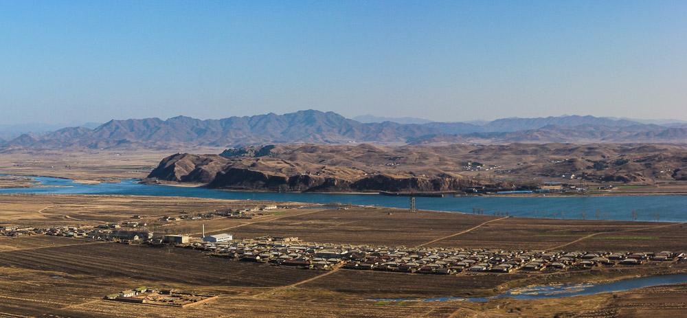North korea from Dandong