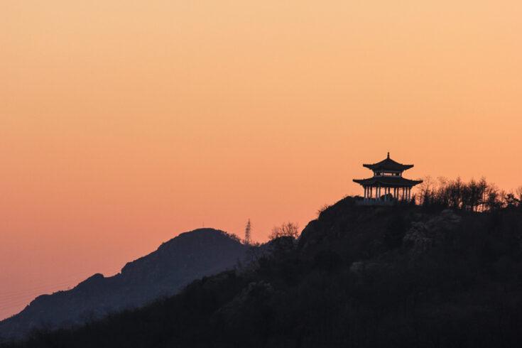 Jinjiangshan Park dandong china